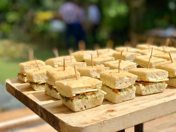 Cheesy Pesto Sandwich