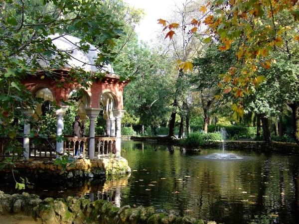 Maria Luisa Park in Seville
