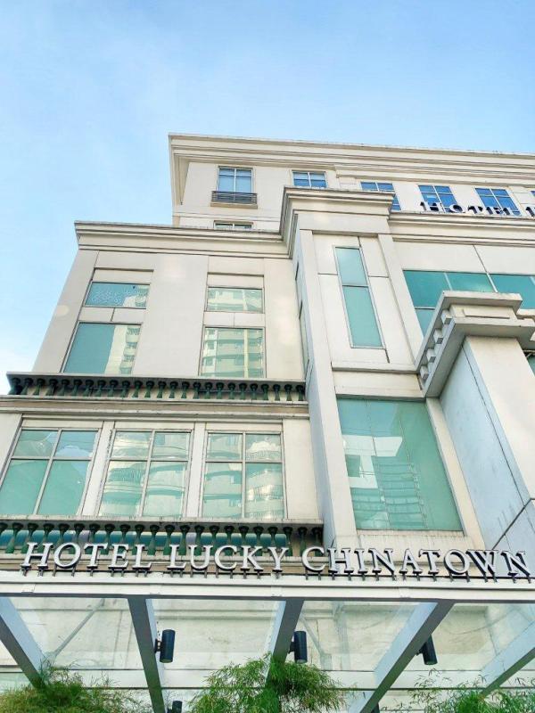 Отель Лаки Чайнатаун Фасад