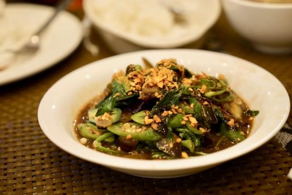 Янгон Сарап овощное блюдо
