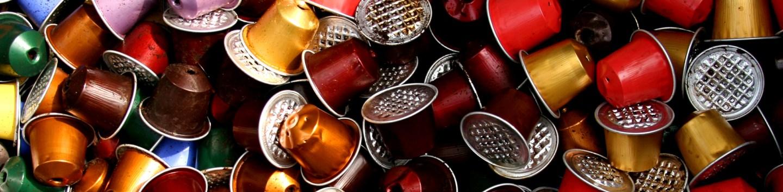 Cápsulas de café usadas (Thomas Guignard/Flickr)