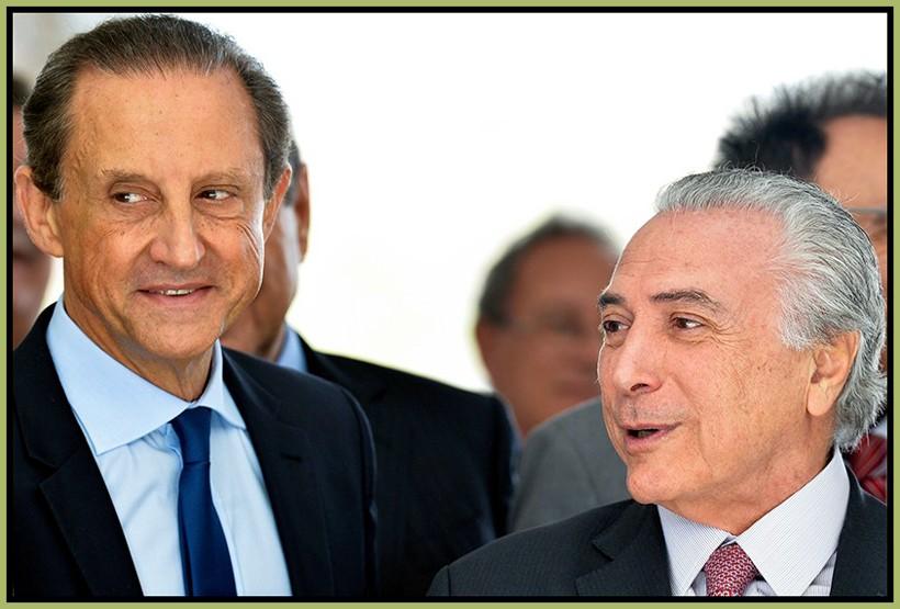 Paulo Skaf, presidente da Fiesp, e Michel Temer. Entidade empresarial estaria por trás do programa regressivo defendido pelo vice de Dilma