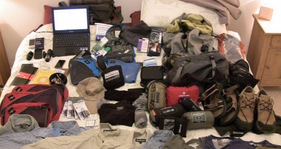 James' Travel Packing