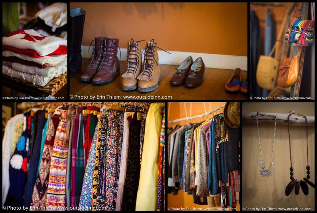 Nevada City Vintage Clothing and Accessories, Enid and Edgar