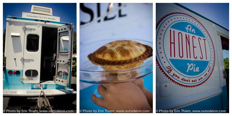 Sweet and Savory pies, Nevada City Food truck, An Honest Pie