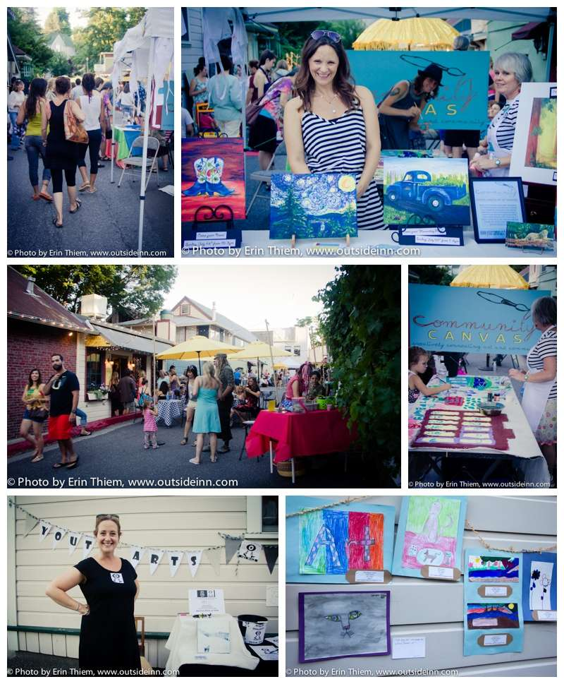 First Friday Art Walk Nevada City photos