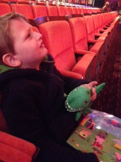 seeing Peppa Pig