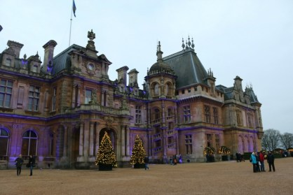 waddesdon manor at twilight countrykids. Black Bedroom Furniture Sets. Home Design Ideas