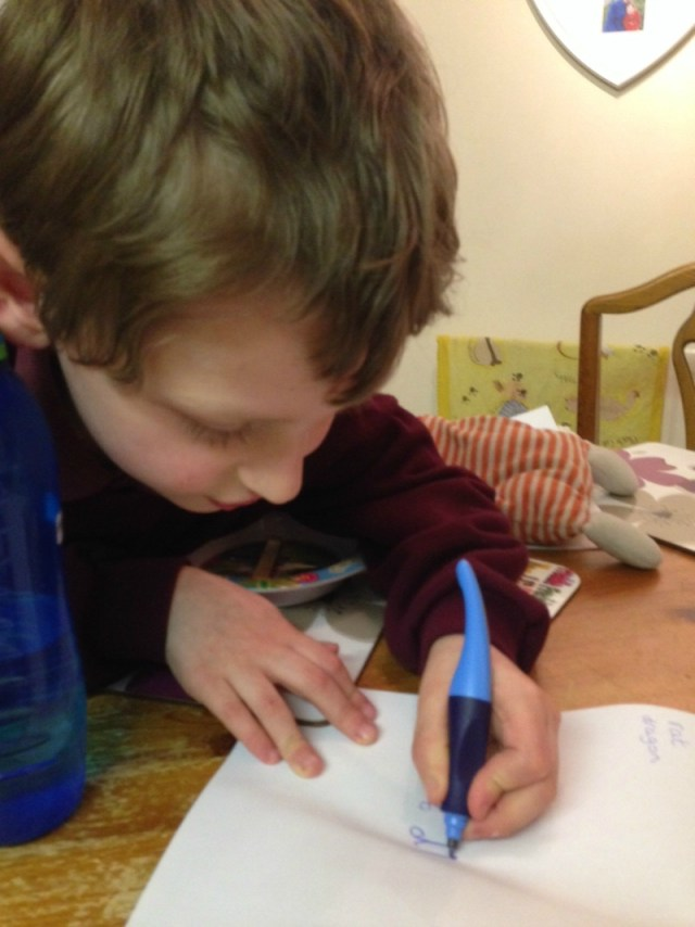learning to write