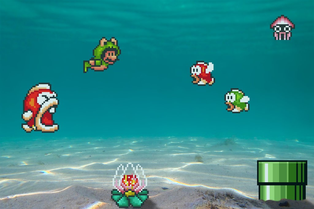real_bits___super_mario_bros_3__seabed_by_victorsauron-d69r4fp
