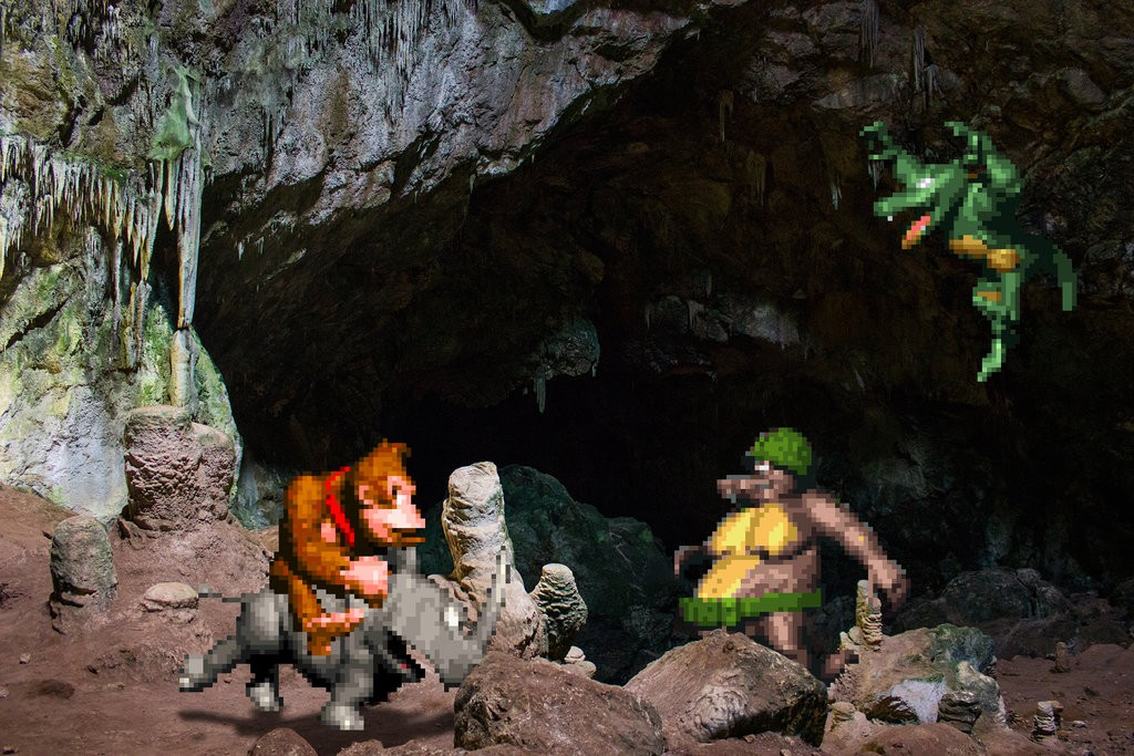 real_bits___donkey_kong_country__caverns_by_victorsauron-d610psu