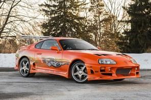 Paul Walker 在電影《玩命關頭》所開的 Toyota Supra 正在拍賣中!