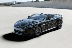 Valentino 為 Cash & Rocket 定製 Aston Martin Vanquish 特別版跑車 飛旋登場