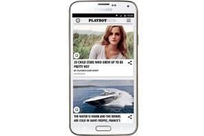 《Playboy》發布非限制級手機 app
