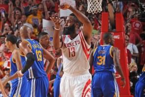 2015 NBA 季後賽西區決賽 G4:火箭 128 比 115 終於拿下首場勝利 精彩畫面重播