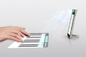 聯想 Lenovo 全球首發 Keywest 投影觸控手機!