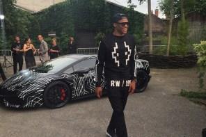 NBA 雷霆隊 Russell Westbrook 受邀米蘭男裝時裝週 2016 Marcelo Burlon County of Milan 春夏系列秀