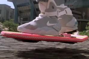 《回到未來》中的 Hoverboard 由 Lexus 開發出磁懸浮滑板!