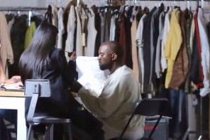 萬眾矚目,Kanye West 又要開始新的設計了!?