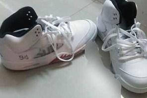 第三雙是白色!Supreme x Air Jordan 5 聯名鞋款模糊曝光!
