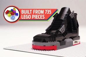 樂高無所不能:735 塊積木還原 Air Jordan 經典設計 Air Jordan IV「Bred」!