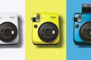 Fujifilm 發表最新一代 Instax mini 70 q9 簡約時尚拍立得相機