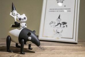 Paradise 釋出「爽啾貘」公仔組合,三大圖文作家強襲玩具展!