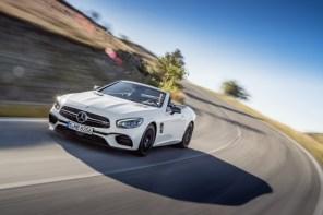 第六代 M.Benz SL-Class 小改款洛杉磯車展登場!