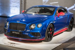 最速車系誕生!2017 式 Bentley Continental GT Speed 發佈