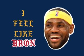 LeBron James 穿著「I Feel Like『Bron』」上衣現身!