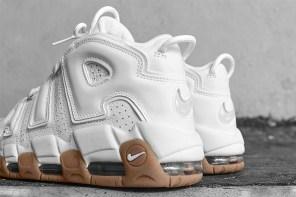 Air More Uptempo 鞋款聚焦,近覽白色大 Air 的魅力!