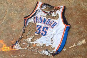 燒球衣不足解恨 / OKC 球迷請願將「Durant 之城」更名為「Westbrook 之城」