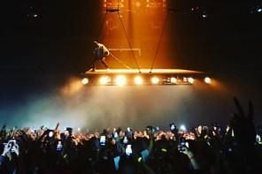 Kanye West 最新 Saint Pablo 演唱會竟在「空中」開唱,粉絲只能抬頭看秀!