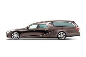 這不是合成照!這是 Maserati 最新設計概念的「靈車」