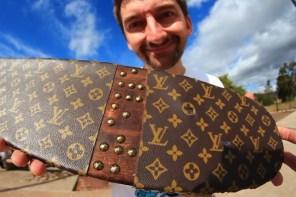 這可能是世上最貴的滑板!「Louis Vuitton」板你敢上腳嗎
