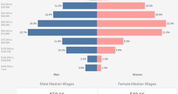 How Much Do Men and Women Typically Earn in Wages
