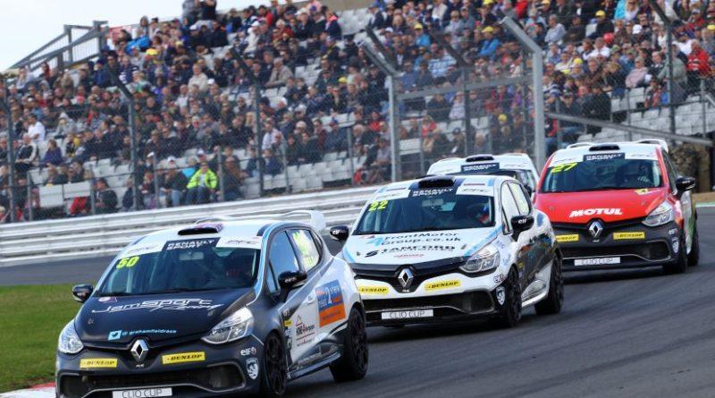 Graham Field (GBR) JamSport Renault Clio Cup