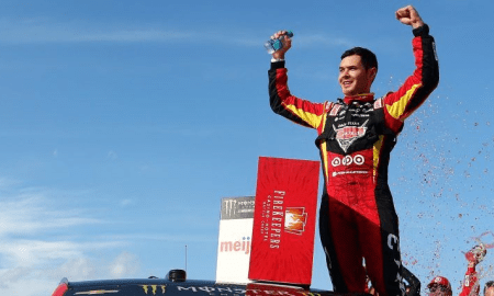 kyle larson wins 2017 firekeepers casino 400