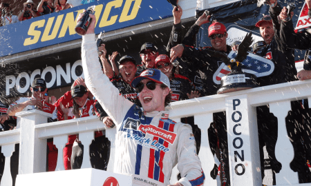 ryan blaney wins 2017 pocono 400