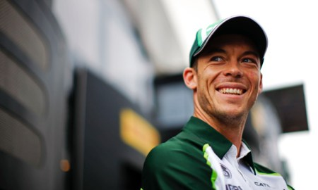 Andre Lotterer (GER) Caterham F1 Team. Belgian Grand Prix, Friday 22nd August 2014. Spa-Francorchamps, Belgium.