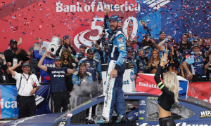 Martin Truex Jr wins 2017 Bank of America 500