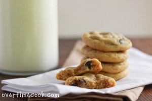 chewy choc chip cookies 2