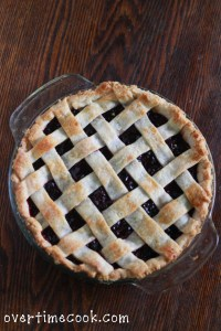 Homemade Cherry Pie and a Lattice Crust Tutorial