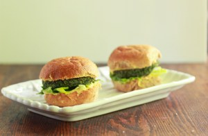 Spinach and Chick Pea Burgers 1