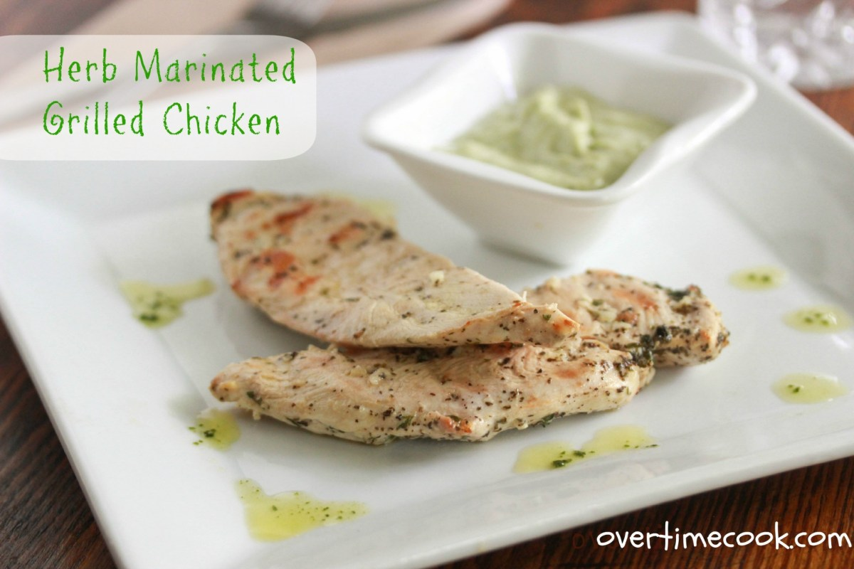 Herb Marinated Grilled Chicken
