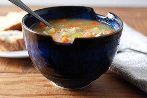 chicken vegetable and barley soup 2