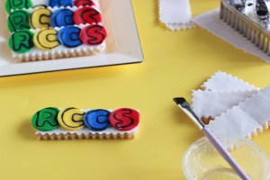 Personalized Letter Cookies 4