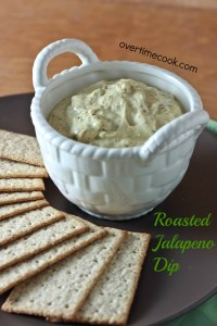 roasted jalepeno dip on overtimecook