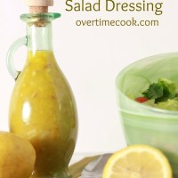 Citrus Shallot Salad Dressing
