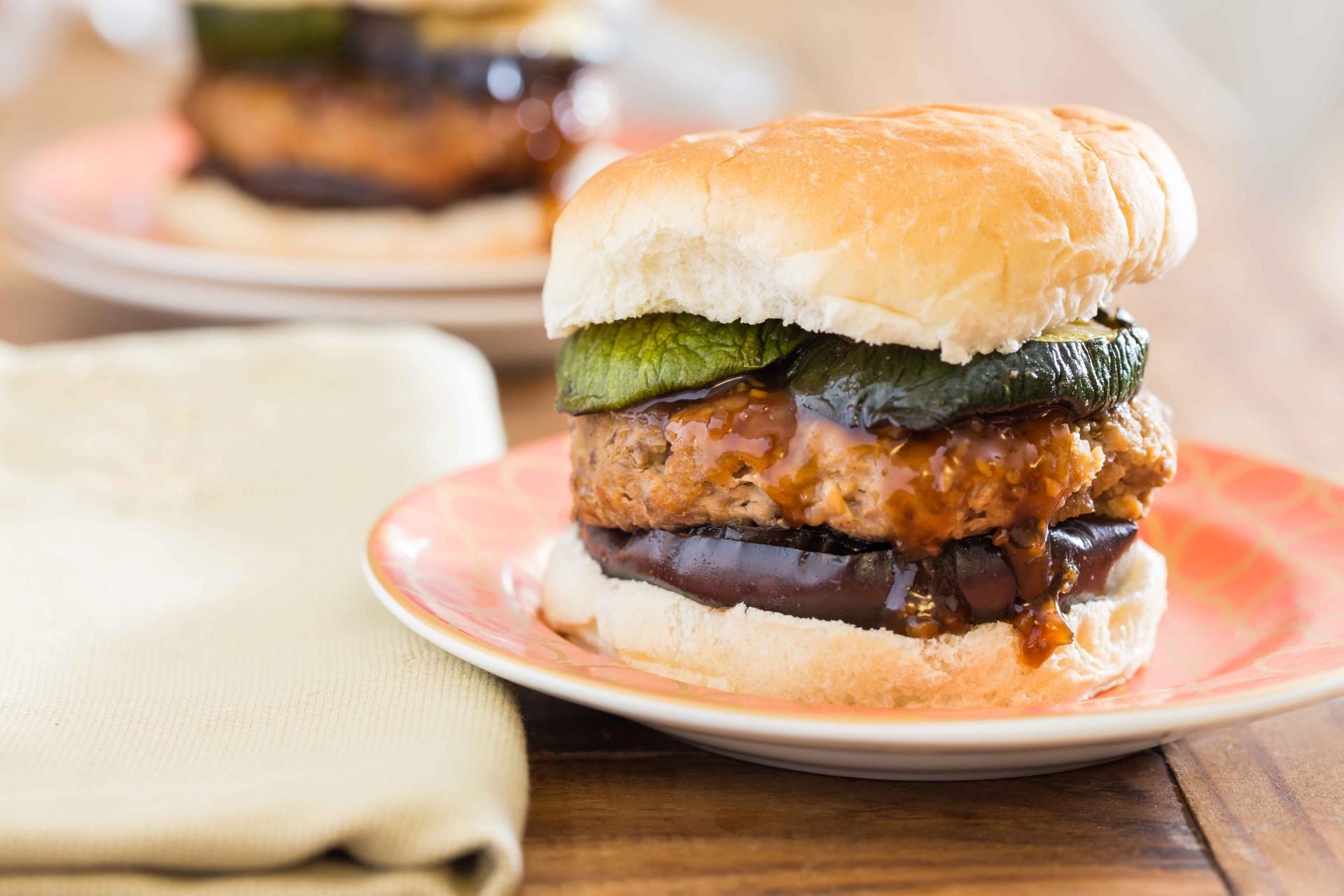 Tropical Chicken Burger Recipe — Dishmaps